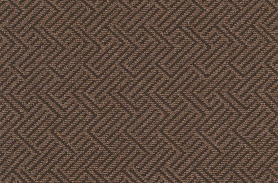 Shaw Tread On Me Walk-Off Carpet Tile - Neutral Ground