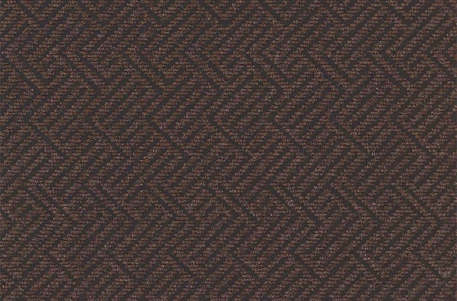 Shaw Tread On Me Walk-Off Carpet Tile - Woodland Peat