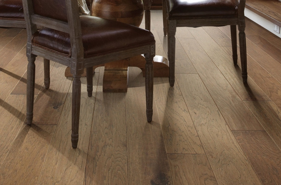 Shaw Riverstone Hickory Engineered Wood - Vintage