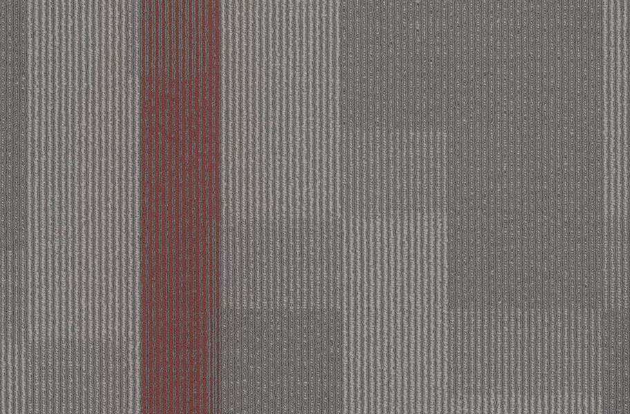 Pentz Amplify Carpet Tiles - Crimson