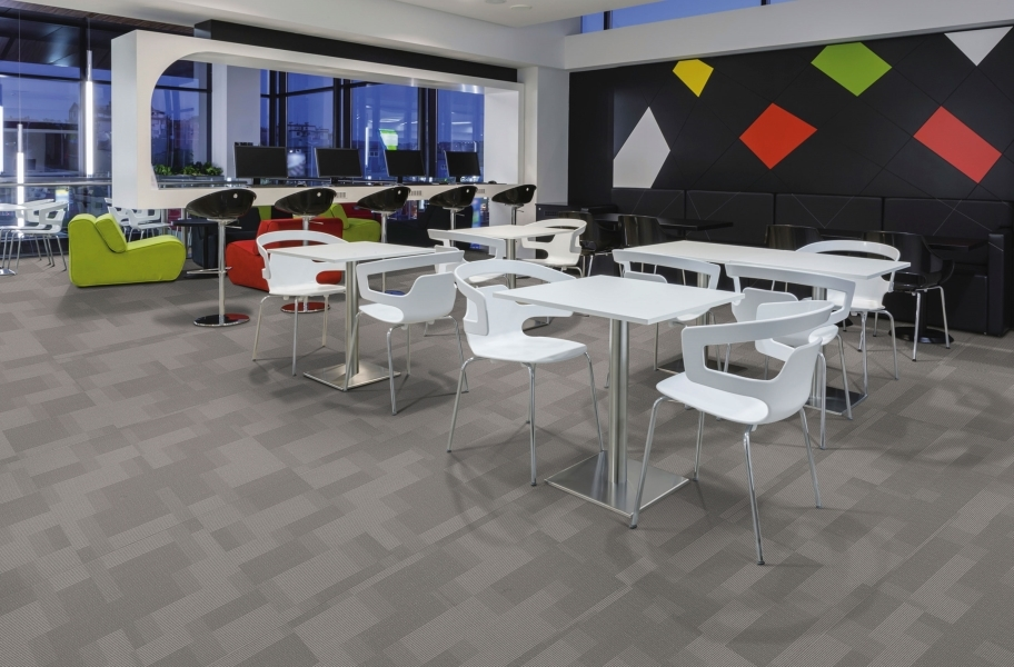 Pentz Amplify Carpet Tiles - Sky Rocket
