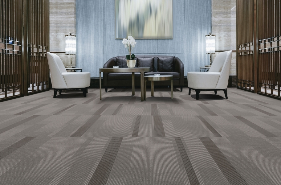 Pentz Amplify Carpet Tiles - Carob