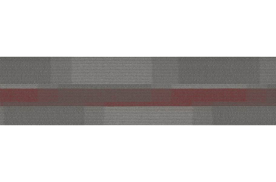 Pentz Amplify Carpet Planks - Crimson