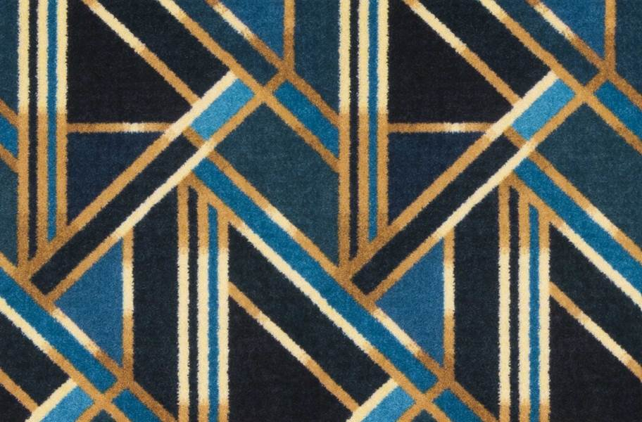 Joy Carpets Moderne Carpet - Azure
