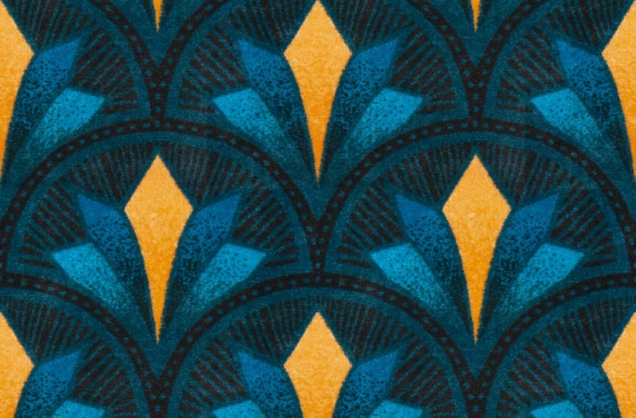 Joy Carpets Bryant Park Carpet - Teal