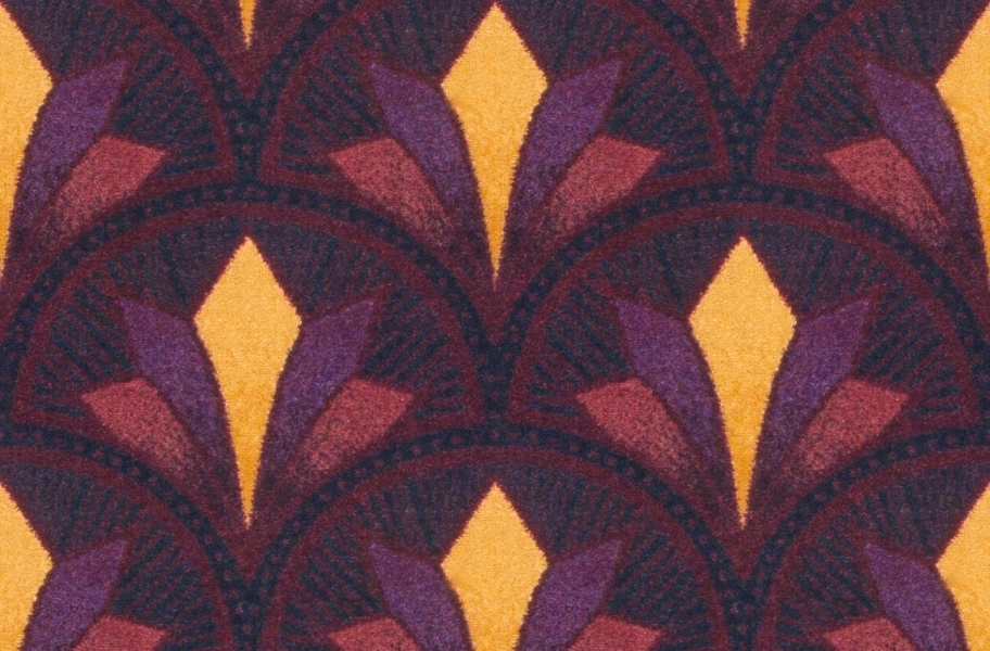 Joy Carpets Bryant Park Carpet - Burgundy