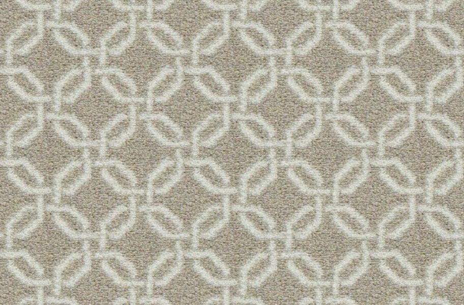 Joy Carpets Intersect Carpet - Taupe