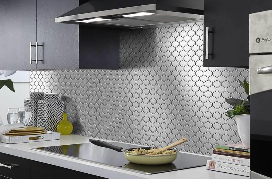 Shaw Elegance Mosaics - Diamond Warm Gray