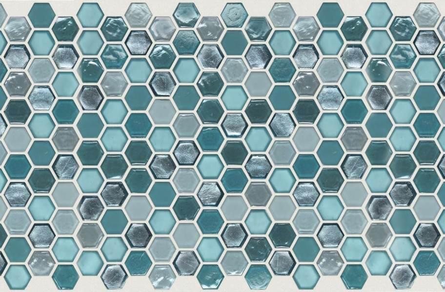 Shaw Molten Glass Mosaic - Hex Hydra