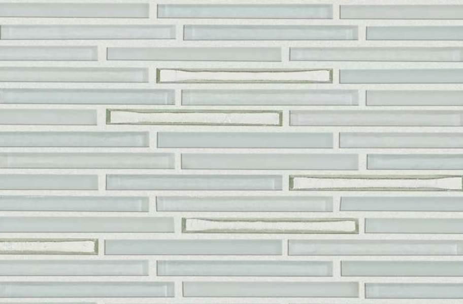 Shaw Molten Glass Mosaic - Linear Platinum