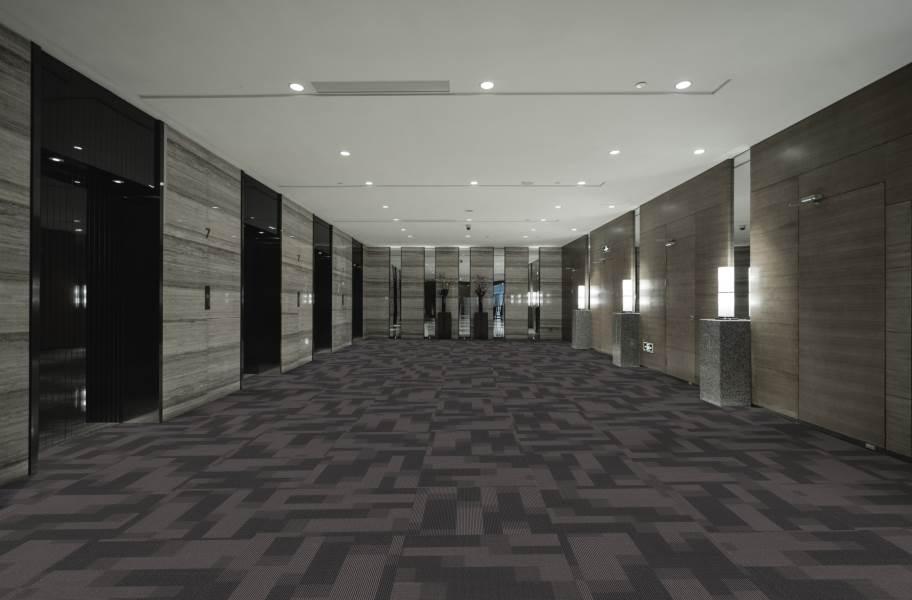 Pentz Magnify Carpet Tiles - Sky Rocket
