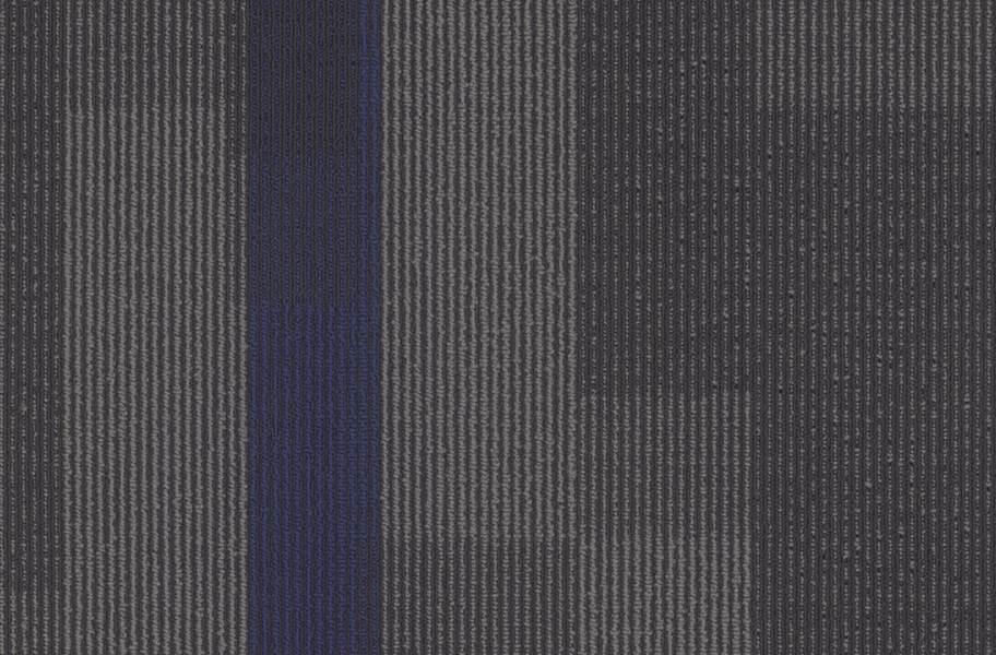 Pentz Magnify Carpet Tiles - Indigo