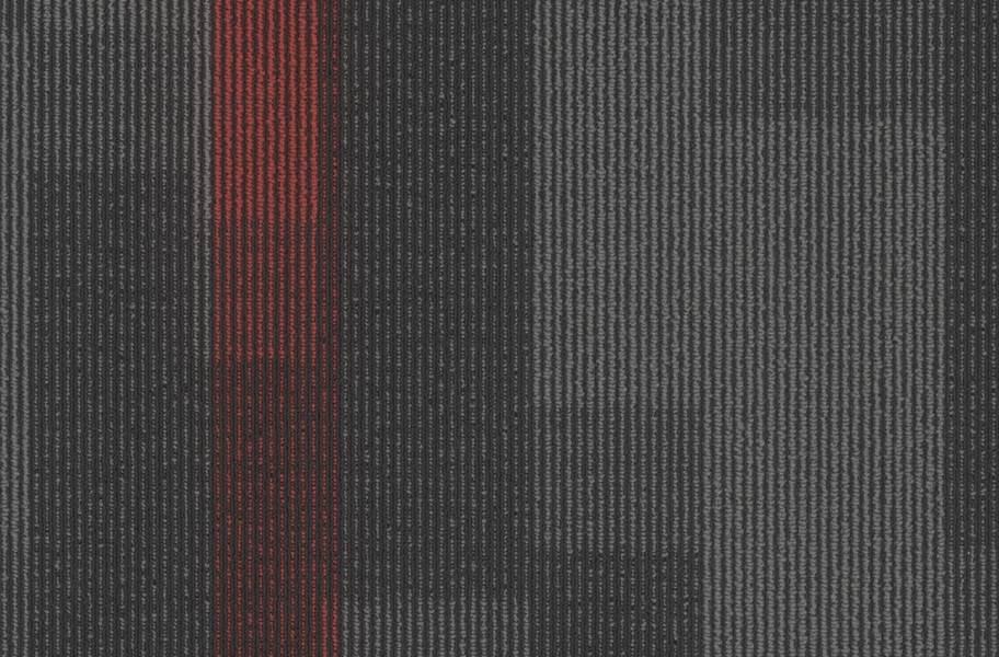 Pentz Magnify Carpet Tiles - Chili Red