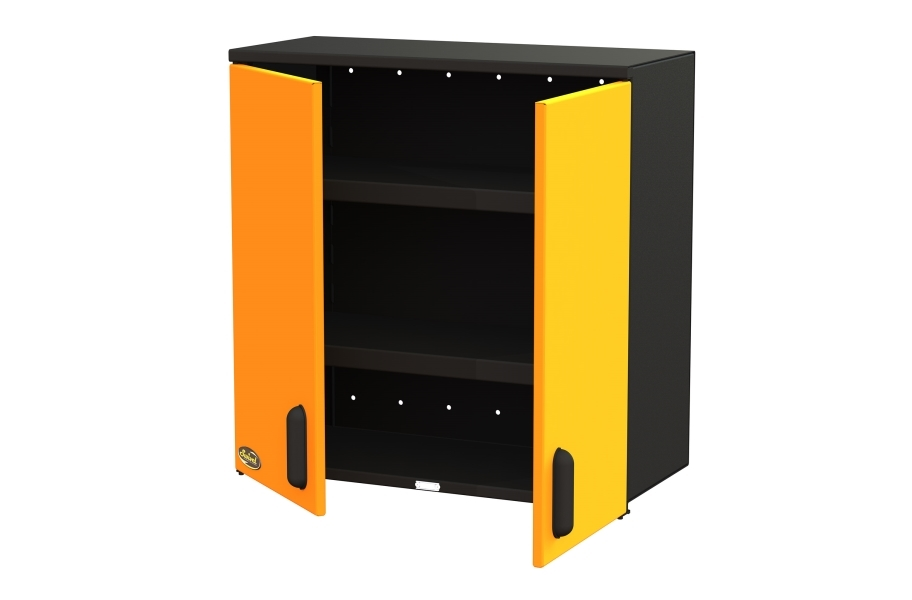 "Swivel Storage 30"" 2-Shelf Top Cabinet"
