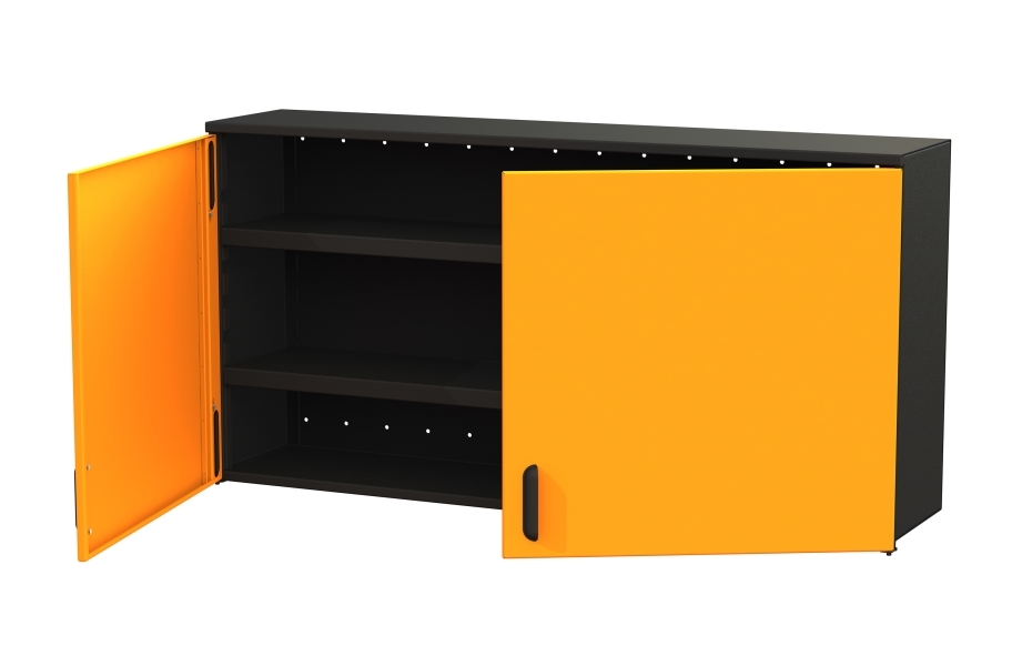 "Swivel Storage 60"" 2-Shelf Top Cabinet"