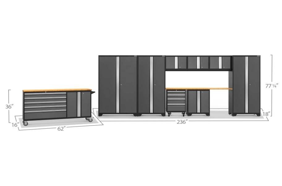 NewAge Bold Series 10-PC Cabinet Set