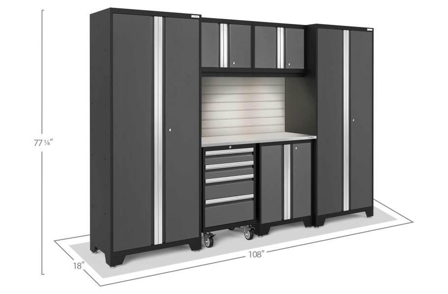 NewAge Bold Series 7-PC Cabinet Set