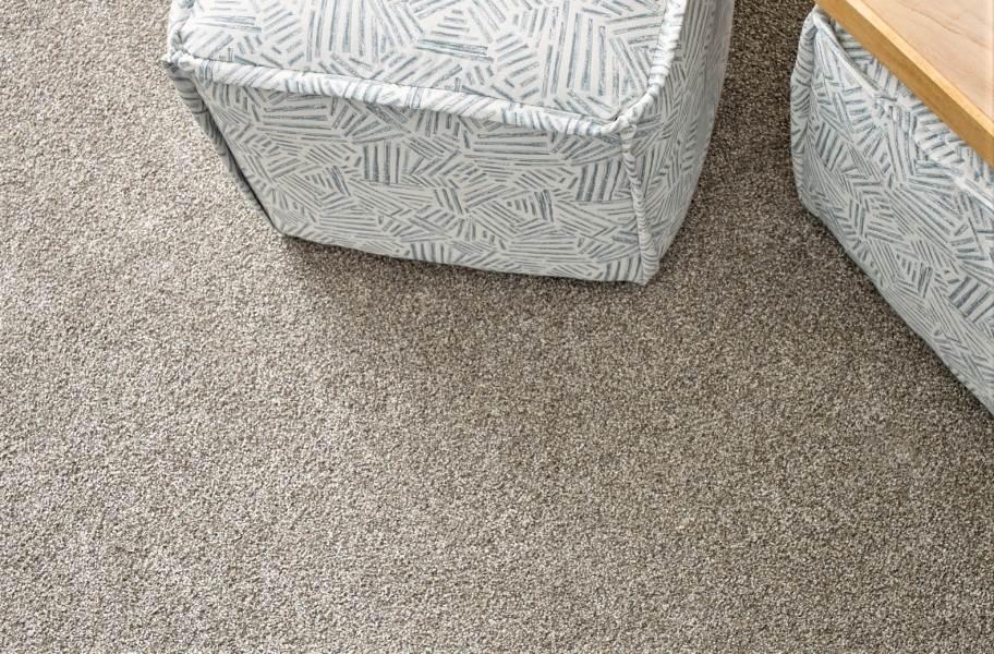 Shaw Floorigami Tri-Tone Carpet Plank - Feathered