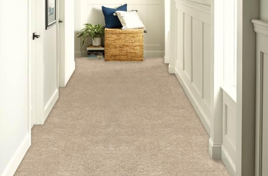 Shaw Floorigami Tri-Tone Carpet Plank - Buff Tone