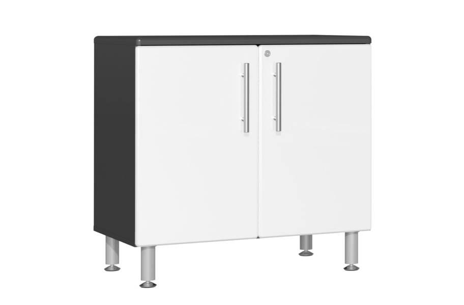 Ulti-MATE Garage 2.0 Oversized 2-Door Base Cabinet - Starfire White Metallic