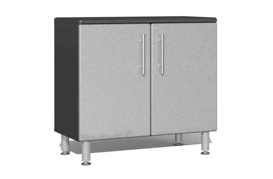 Ulti-MATE Garage 2.0 Oversized 2-Door Base Cabinet - Stardust Silver Metallic