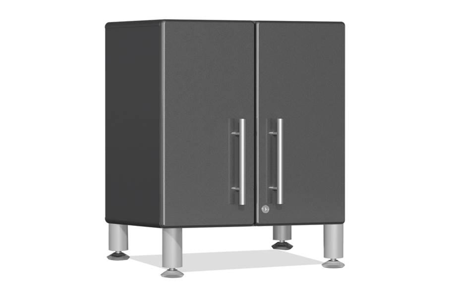 Ulti-MATE Garage 2.0 2-Door Small Base Cabinet - Graphite Gray Metallic