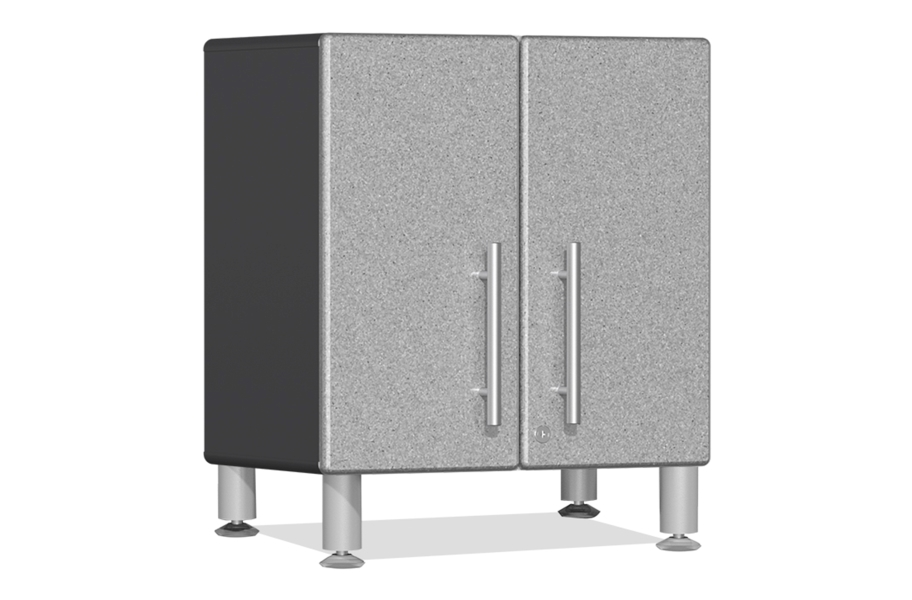 Ulti-MATE Garage 2.0 2-Door Small Base Cabinet - Stardust Silver Metallic