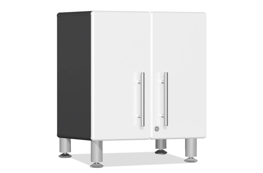 Ulti-MATE Garage 2.0 2-Door Small Base Cabinet - Starfire White Metallic