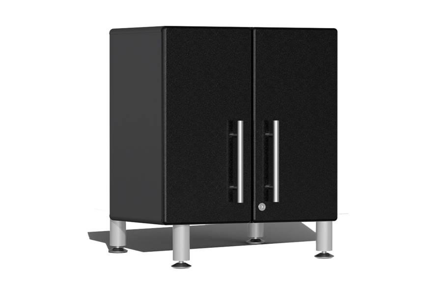 Ulti-MATE Garage 2.0 2-Door Small Base Cabinet - Midnight Black Metallic