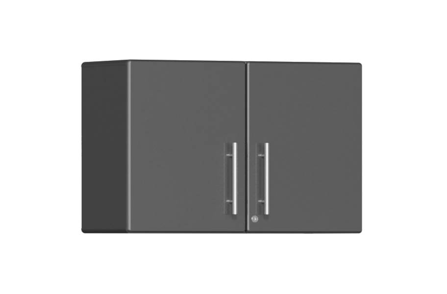 Ulti-MATE Garage 2.0 2-Door XL Wall Cabinet - Graphite Gray Metallic