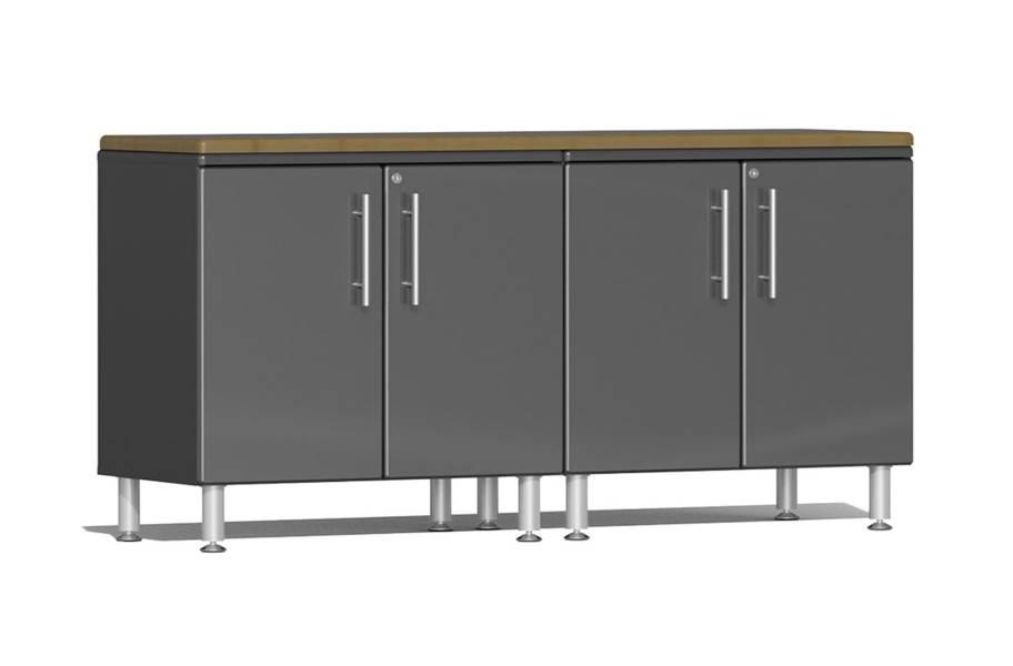 Ulti-MATE Garage 2.0 3-PC Workstation Kit - Graphite Gray Metallic