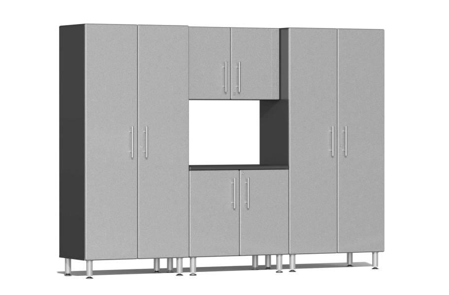 Ulti-MATE Garage 2.0 4-PC Cabinet Kit - Stardust Silver Metallic