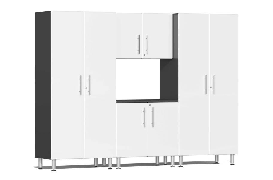 Ulti-MATE Garage 2.0 4-PC Cabinet Kit - Starfire White Metallic
