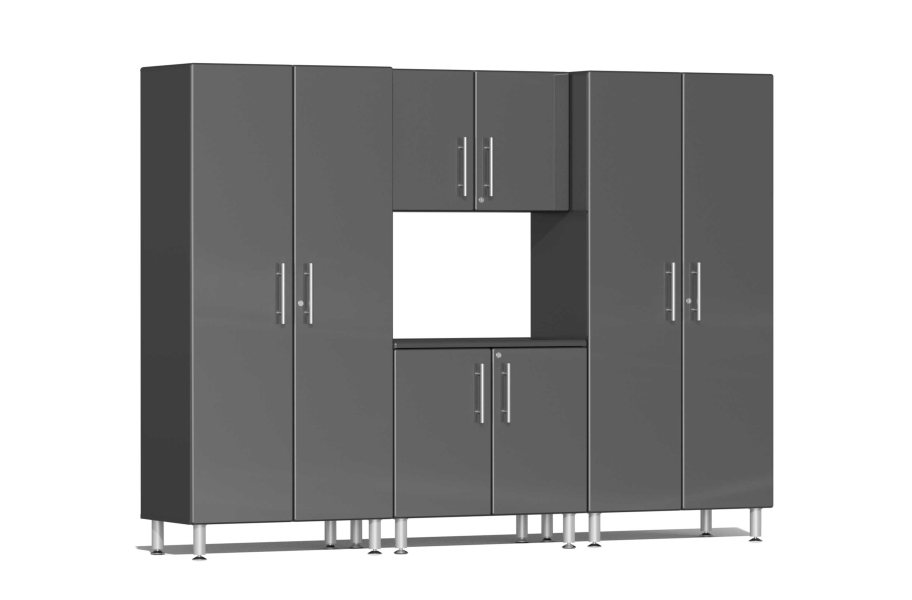 Ulti-MATE Garage 2.0 4-PC Cabinet Kit - Graphite Gray Metallic