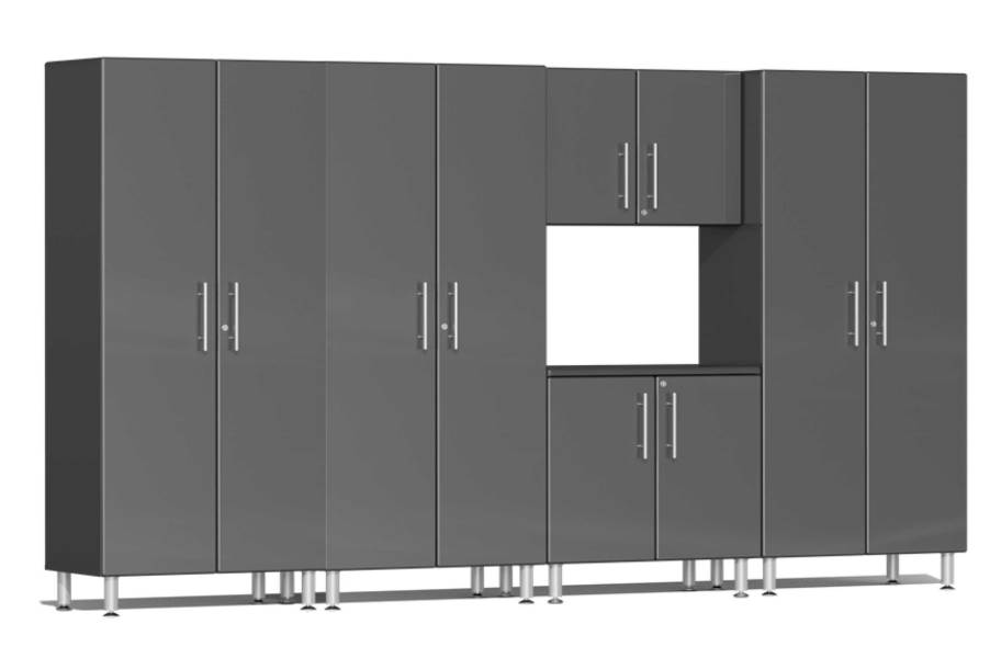 Ulti-MATE Garage 2.0 5-PC Cabinet Kit - Graphite Gray Metallic