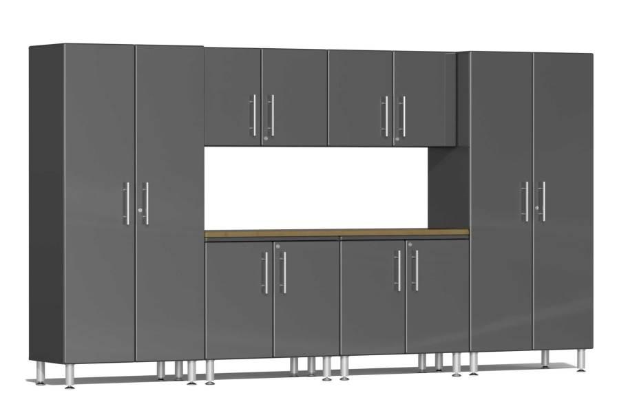 Ulti-MATE Garage 2.0 7-PC XL Kit w/ Workstation - Graphite Gray Metallic