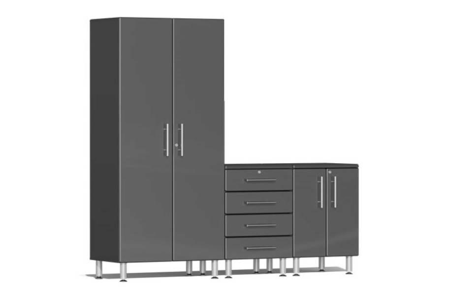 Ulti-MATE Garage 2.0 3-PC Kit - Graphite Gray Metallic
