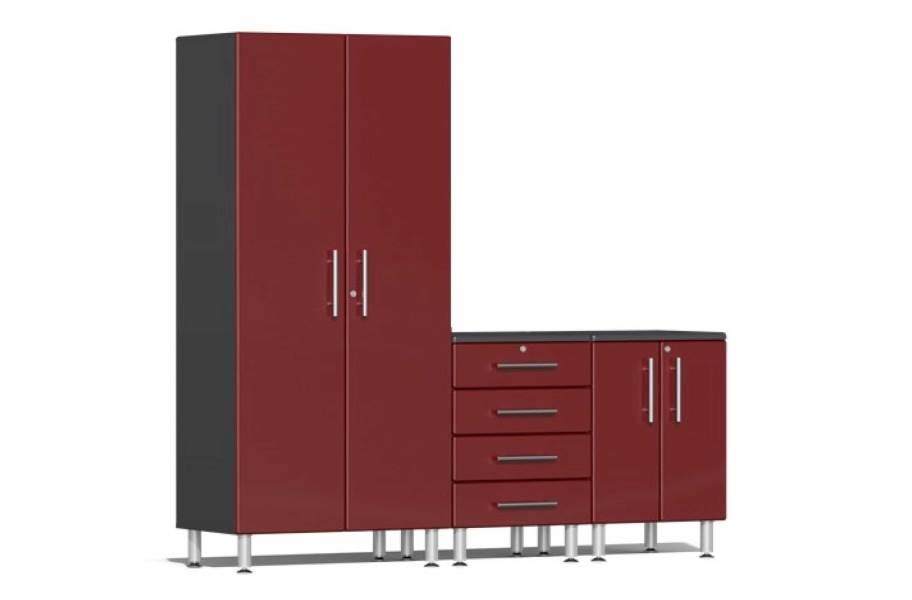 Ulti-MATE Garage 2.0 3-PC Kit - Ruby Red Metallic