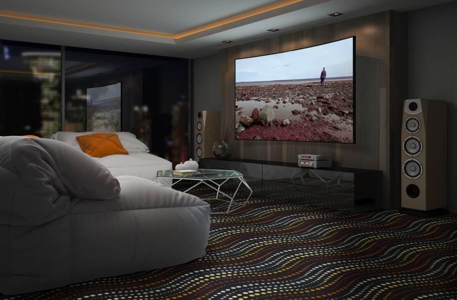 Joy Carpets Sidewinder Carpet - Sunset