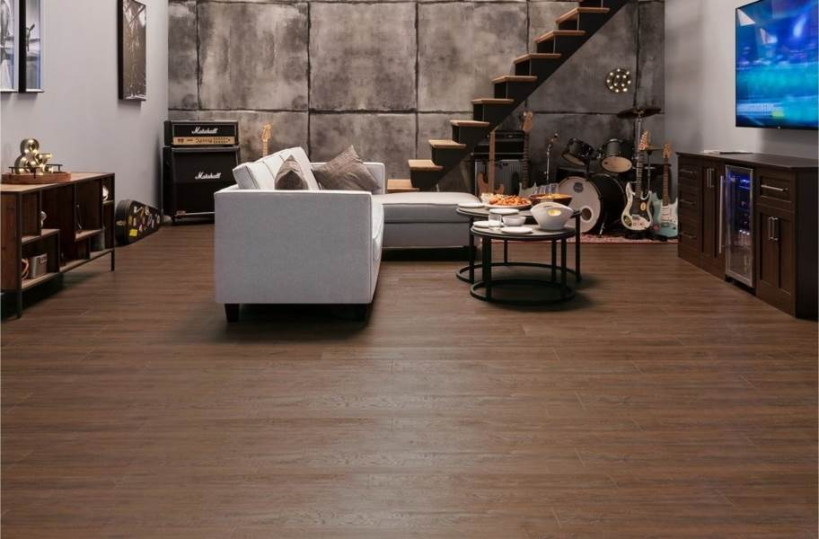 "Newage 9"" Rigid Core Vinyl Planks - Forest Oak"