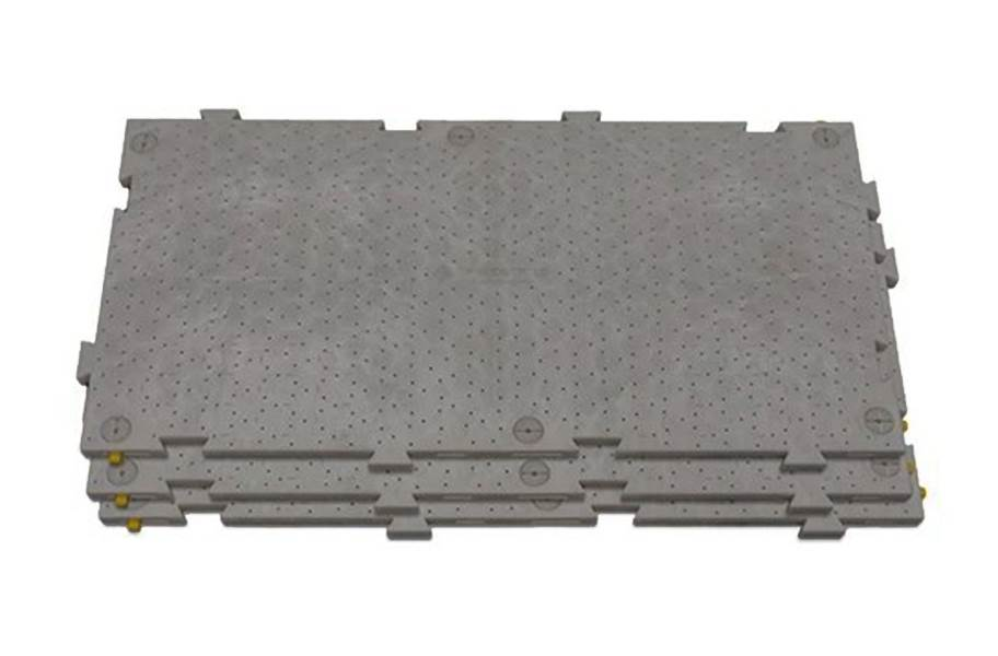 OmniDeck™ Ground Protection Panels - Anthracite (Perforated)