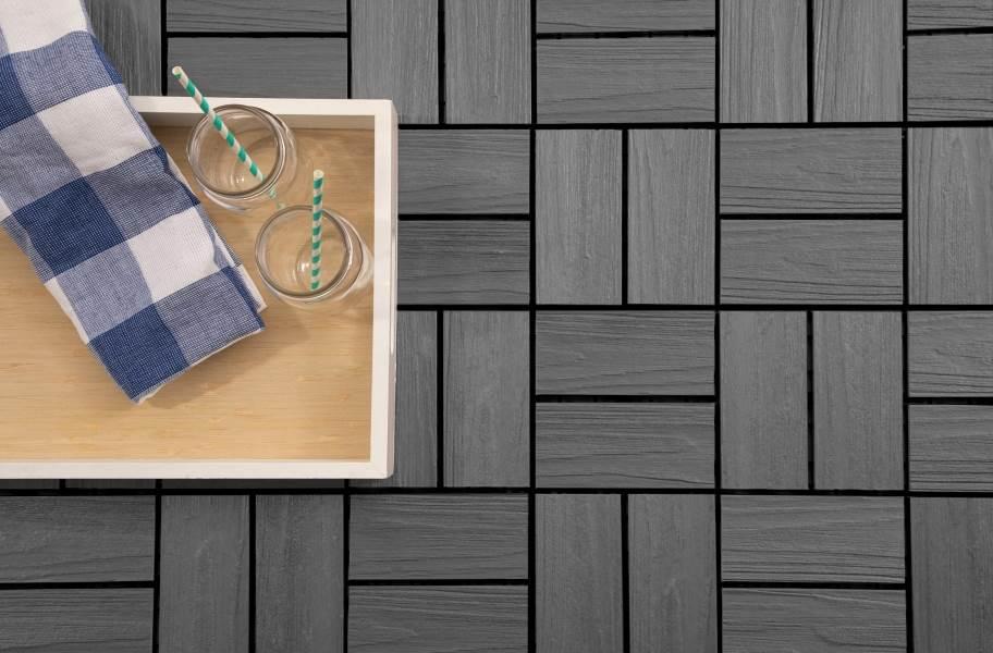 Helios Composite Deck Board Tiles (8 Slat)