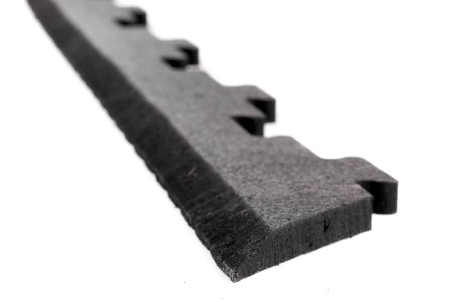 """3/8"""" Versa-Lock Rubber Tile - Beveled Edges"""