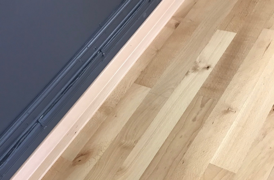Hardwood Dance Floor Wall Base