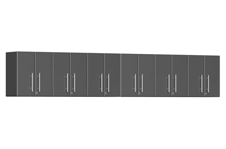 Ulti-MATE Garage 2.0 6-PC Wall Cabinet Kit - Graphite Gray Metallic