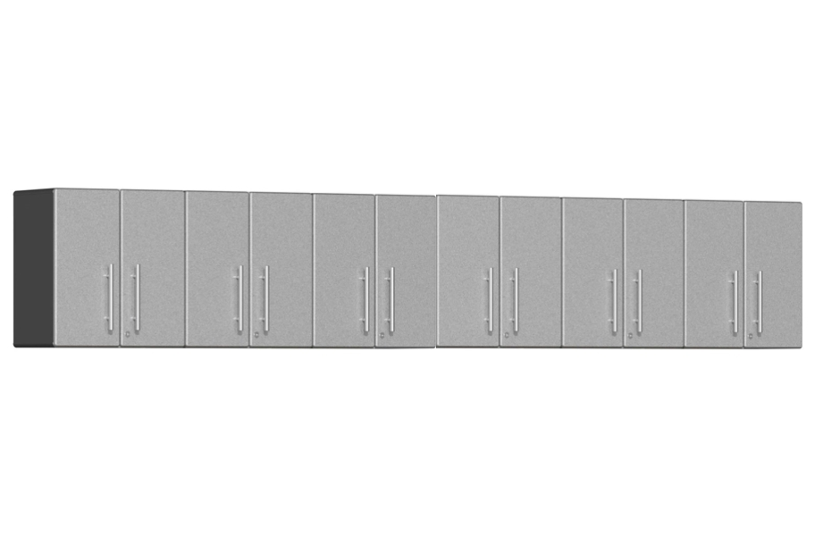 Ulti-MATE Garage 2.0 6-PC Wall Cabinet Kit - Starfire Silver Metallic