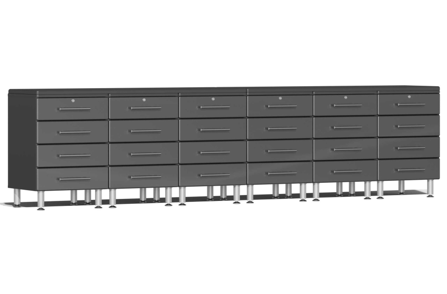Ulti-MATE Garage 2.0 8-PC Workstation - Drawers - Graphite Gray Metallic