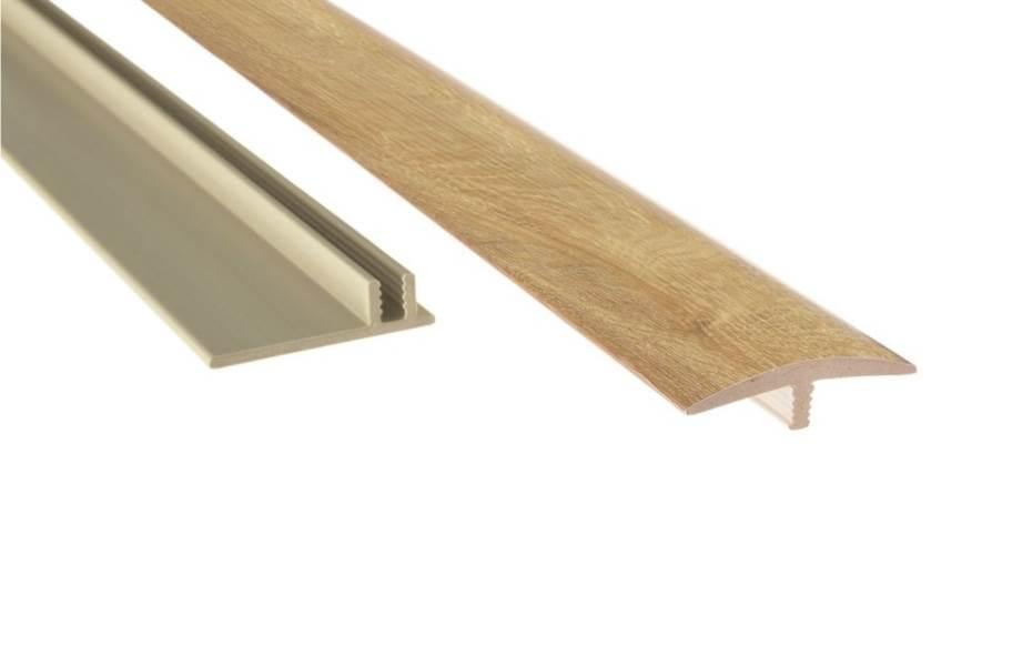 "NewAge 1.65"" x 46"" T-Molding & Track - Natural Oak"