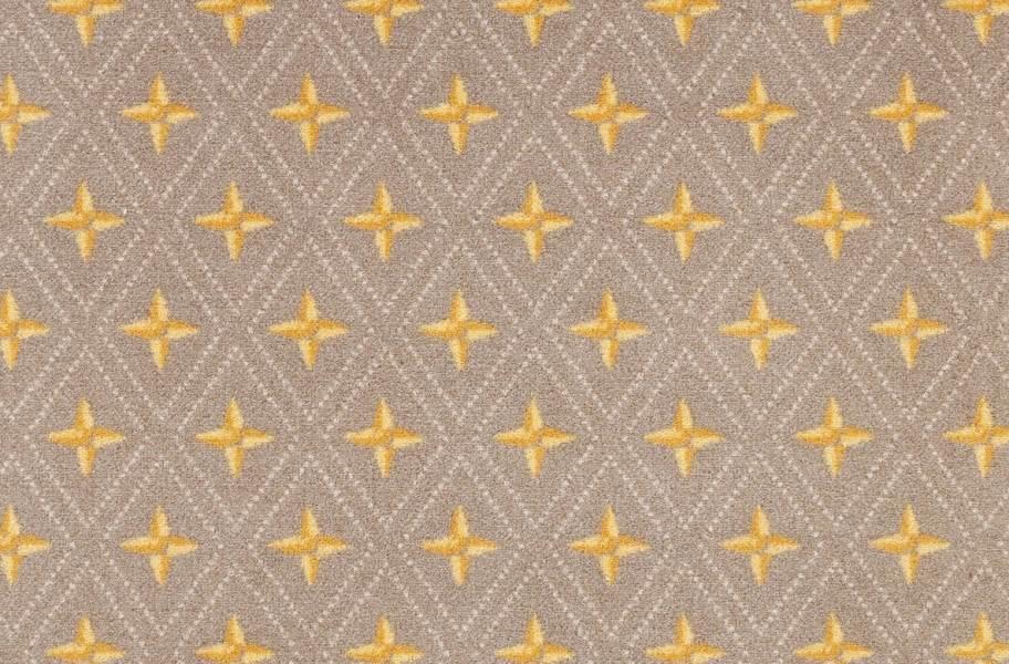 Joy Carpets Star Trellis Carpet - Toffee