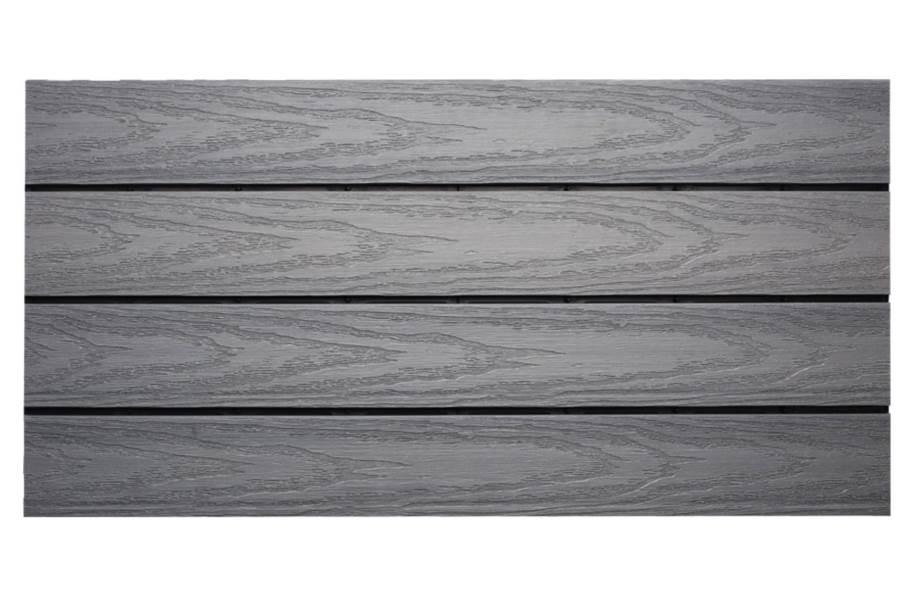 "UltraShield Naturale 12"" x 24"" Deck Tiles - Westminster Gray"